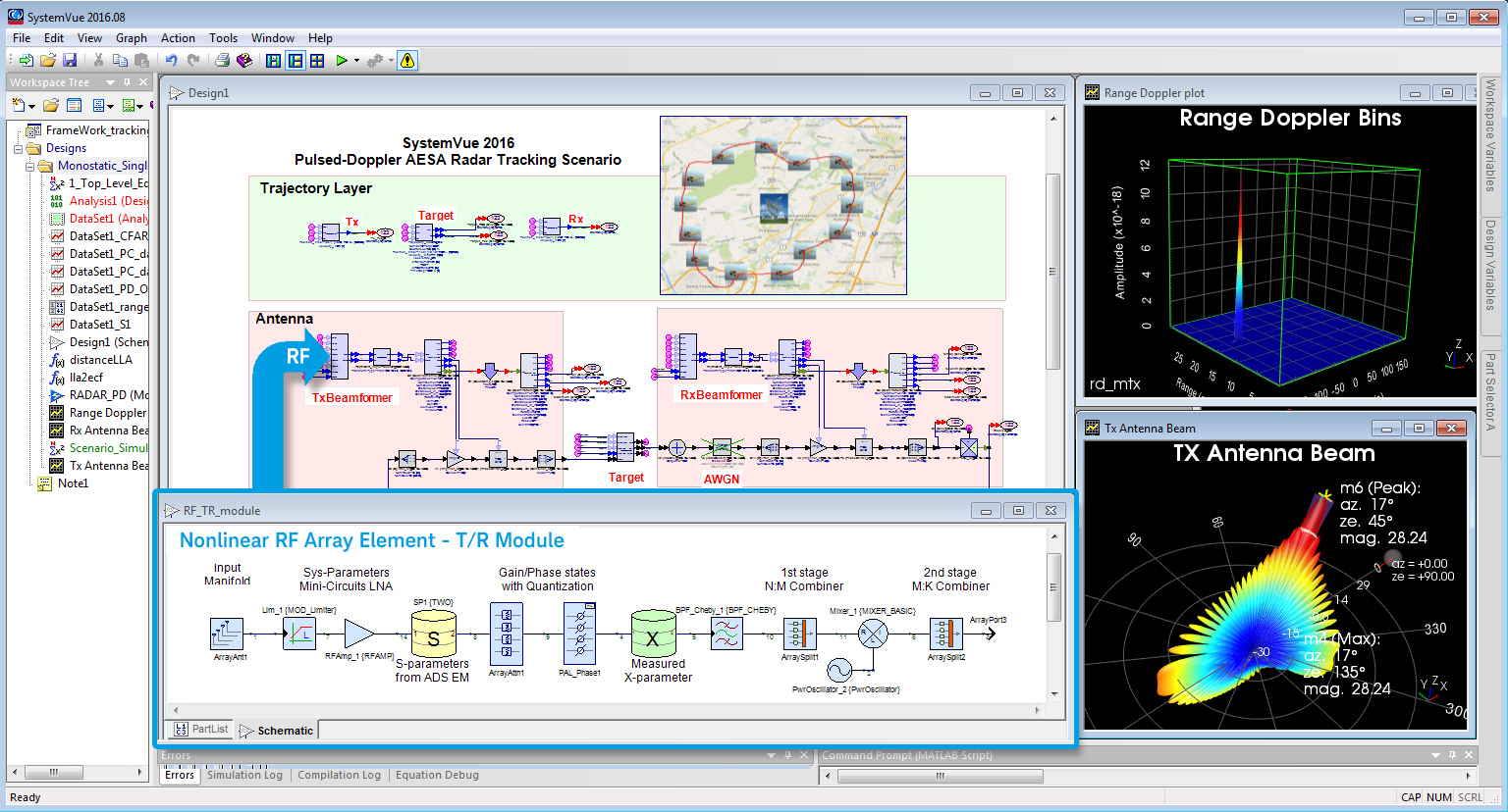 Keysight Technologies Introduces Phased-Array Beamforming Software