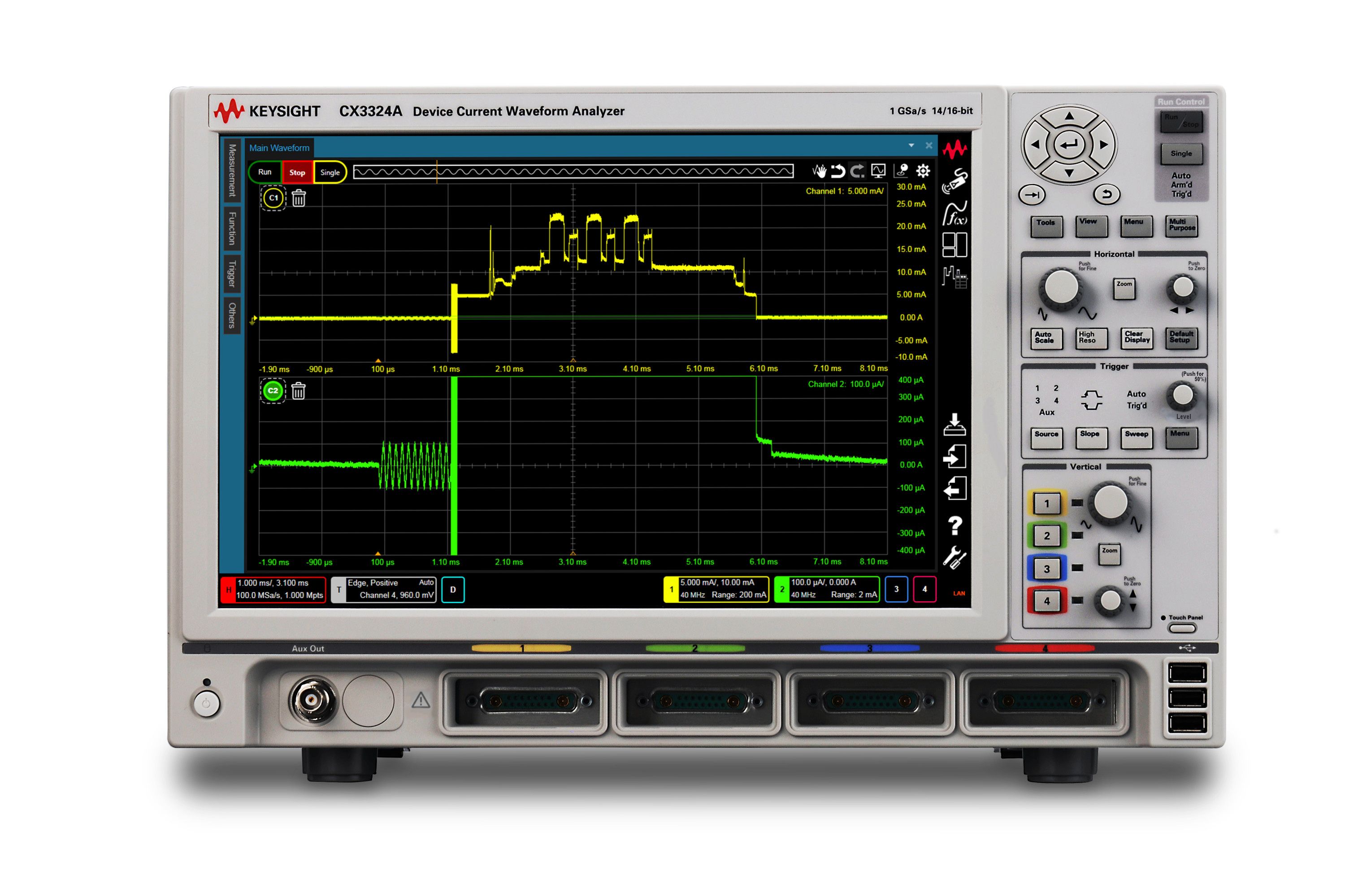 Introducing Keysight's New CX3300 Series Device Current Waveform ...