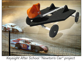 Newton's car science kit