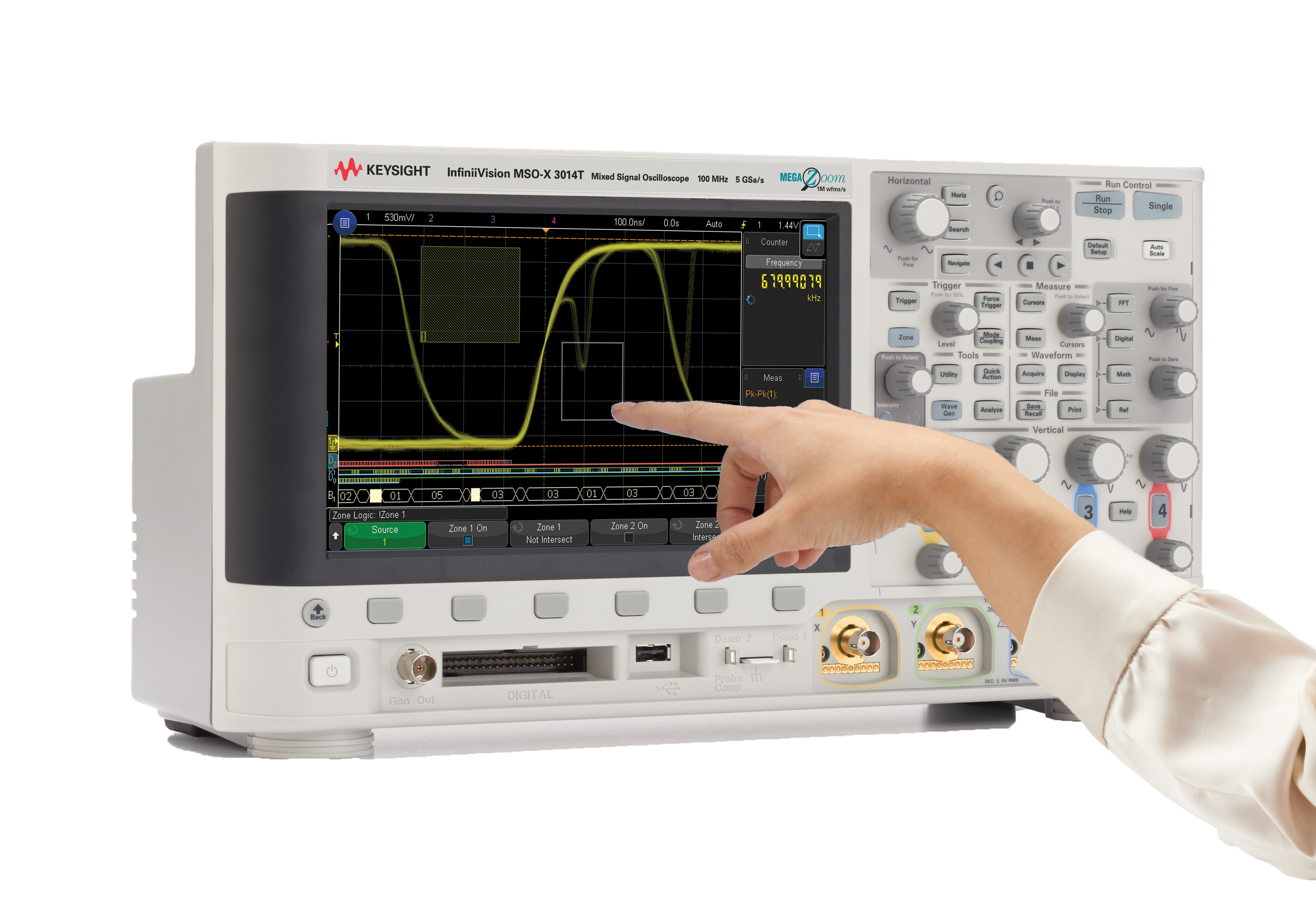 Keysight oscilloscope