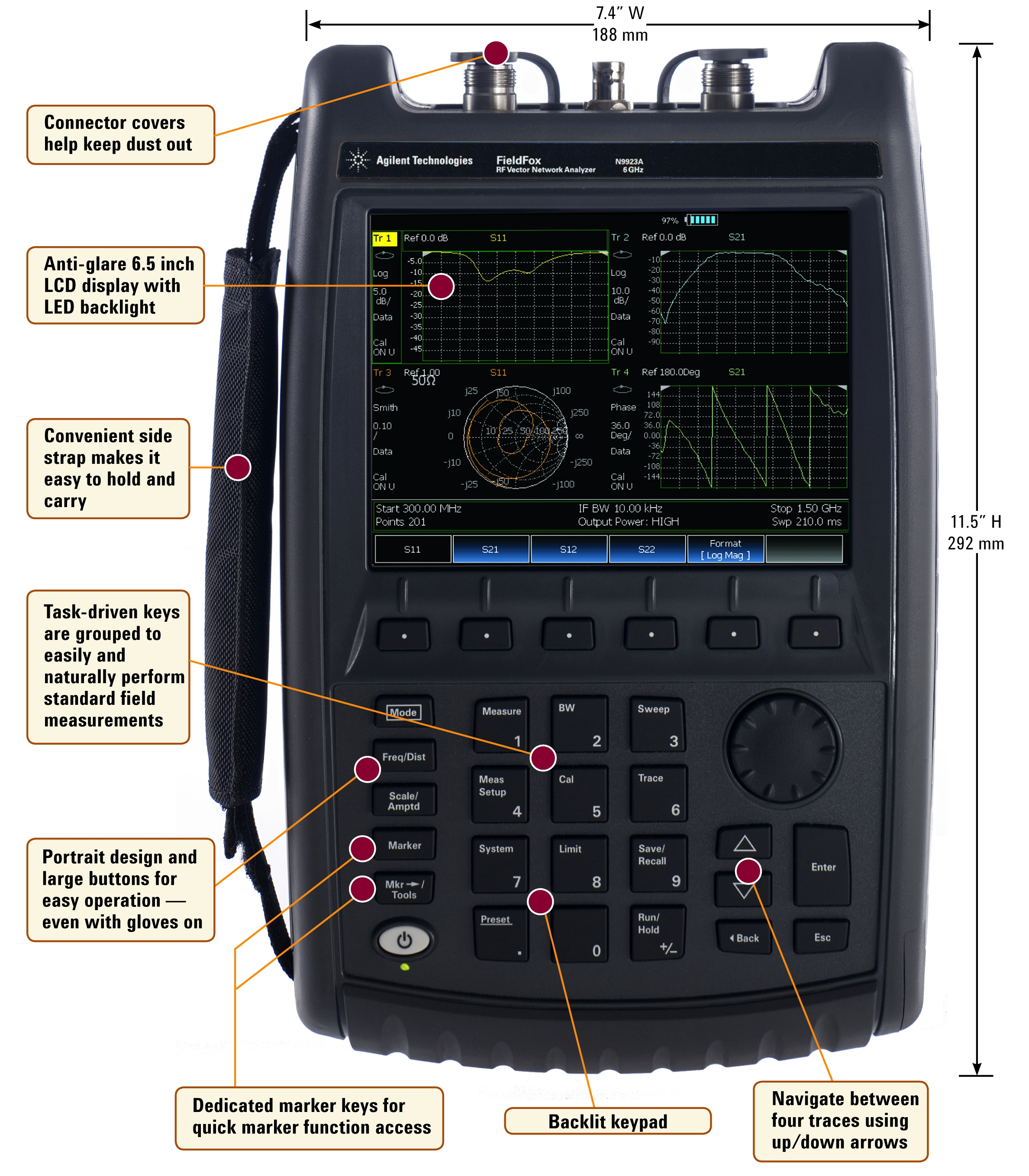 Network Analyzer Hand Held : Keysight news archive agilent technologies delivers