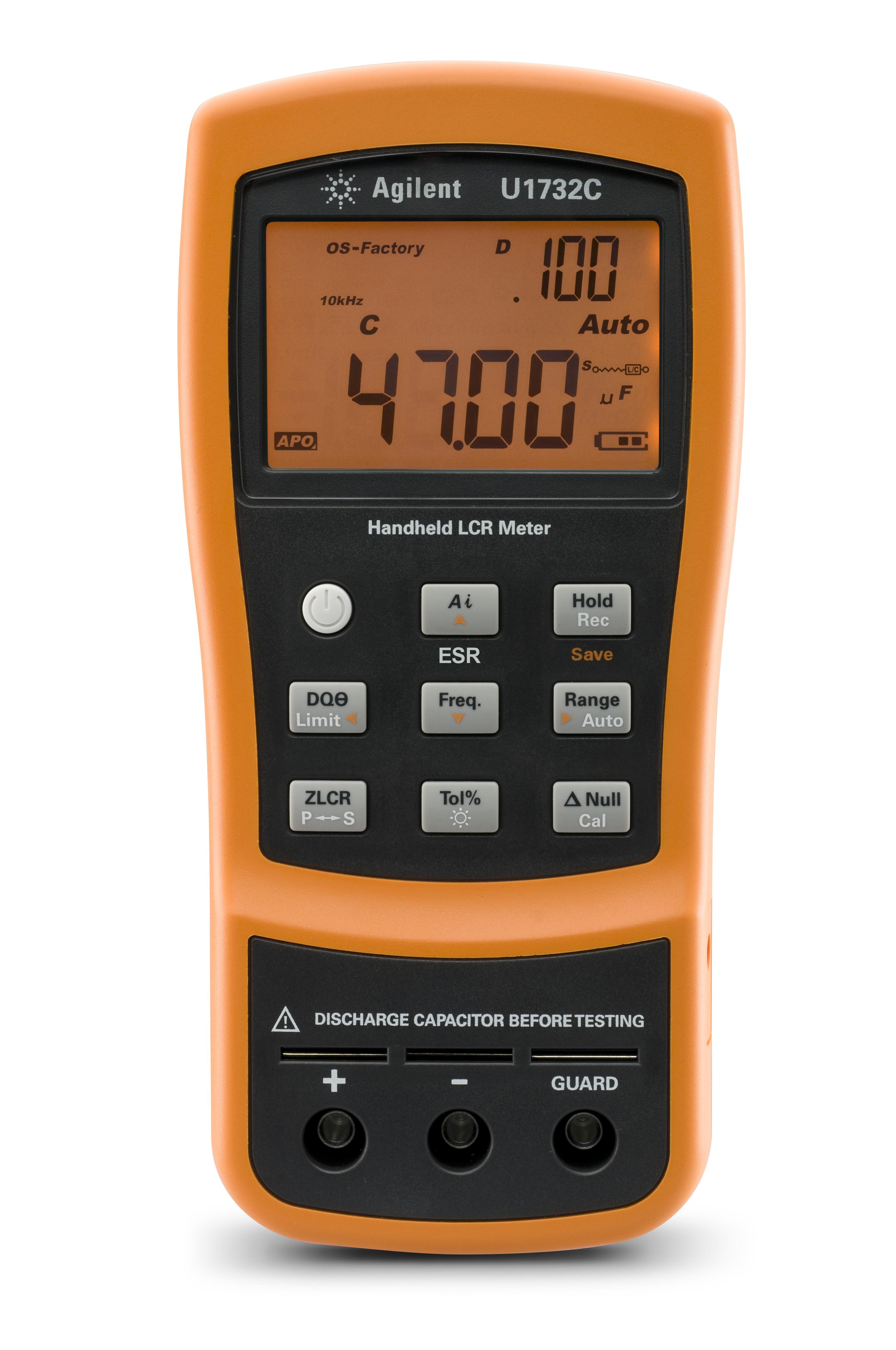 Using An Lcr Meter : Keysight news archive the u c series handheld lcr meters